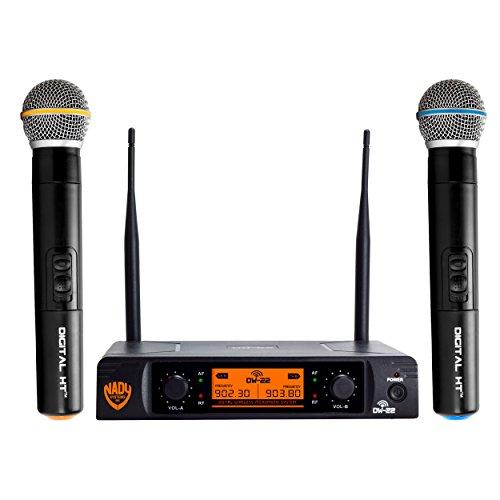 Nady[r] Dw-22-ht-any Dual-transmitter Digital Wireless Microphone System [2 Digital Ht[tm]... by Nady