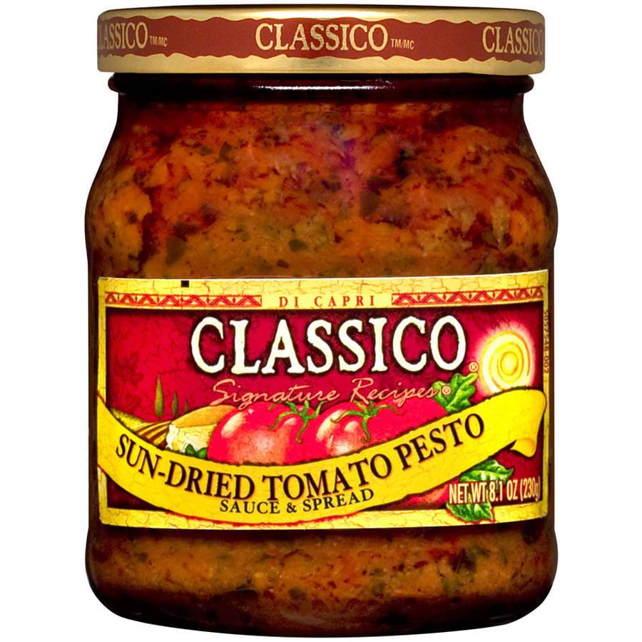 Classico Signature Recipes Sun-Dried Tomato Pesto Sauce & Spread, 8.1 oz