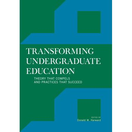 Transforming Undergraduate Education - eBook (The One With Barry And Mindys Wedding)