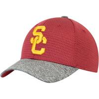 Youth Cardinal/Gray USC Trojans Archer Adjustable Hat - OSFA
