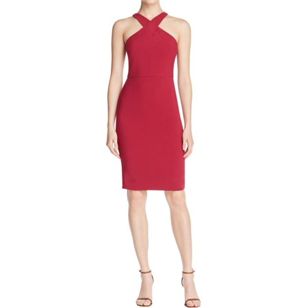 Likely Womens Carolyn Criss Cross Halter Party Dress