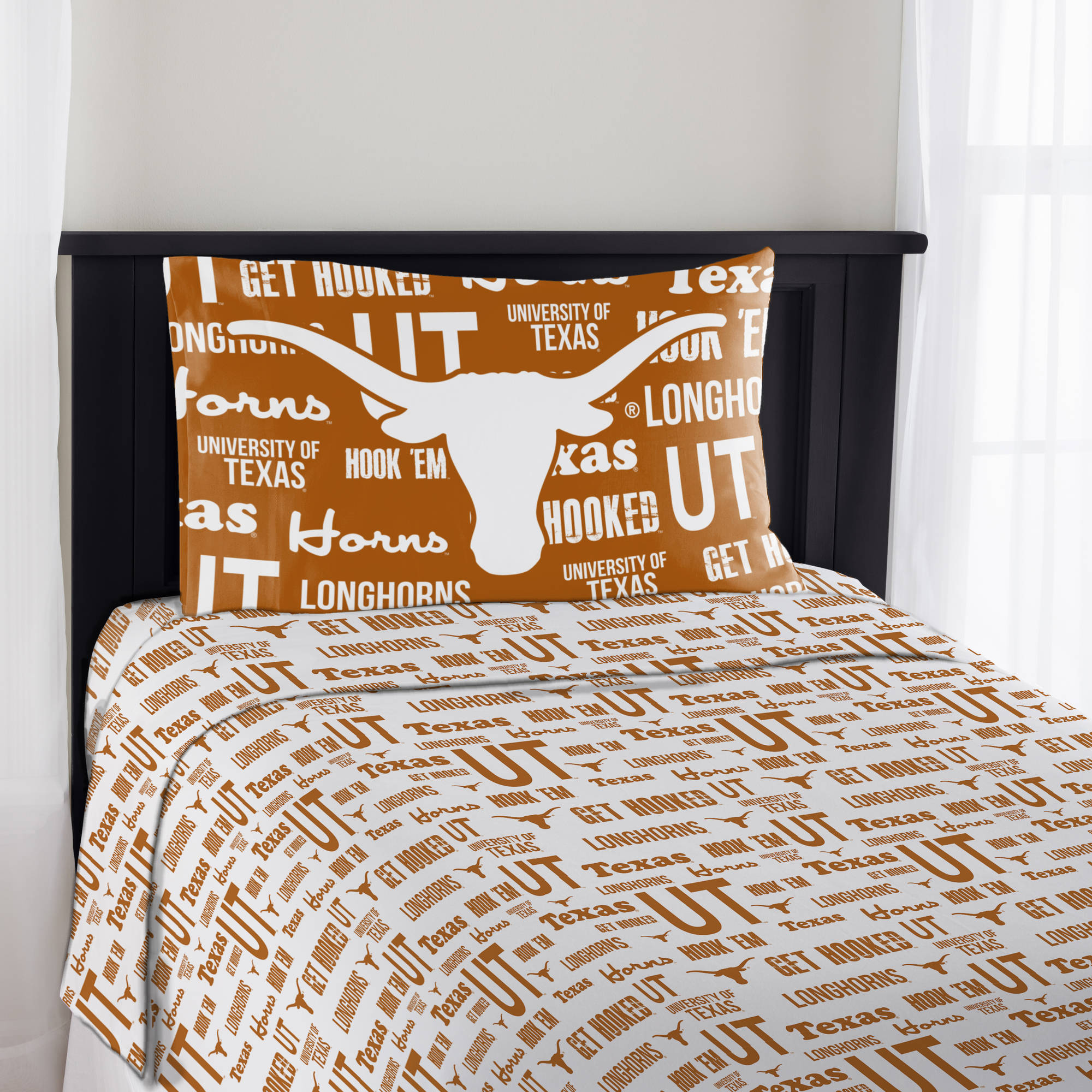 "NCAA Texas Longhorns ""Anthem"" Sheet Set, 1 Each"