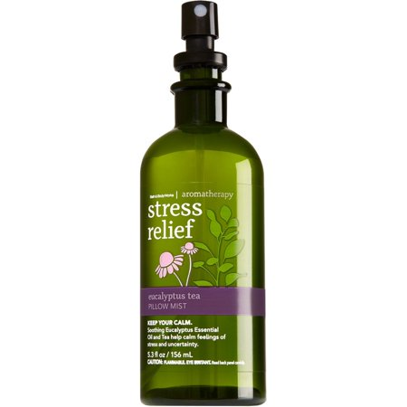 Bath & Body Works Aromatherapy Eucalyptus Tea Stress Relief Pillow Mist 5.3 Oz