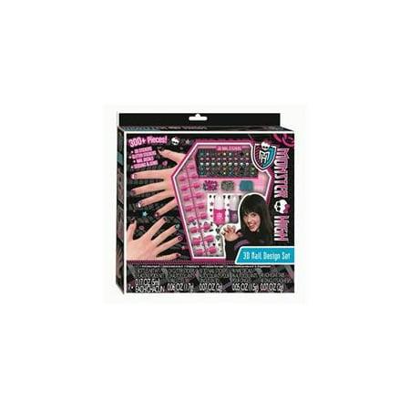 Monster High 3d Nail Design Kit Walmart