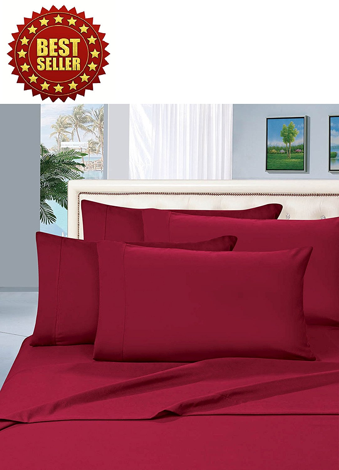 celine linen wrinkle and fade resistant highest quality series luxurious 4piece bed sheet
