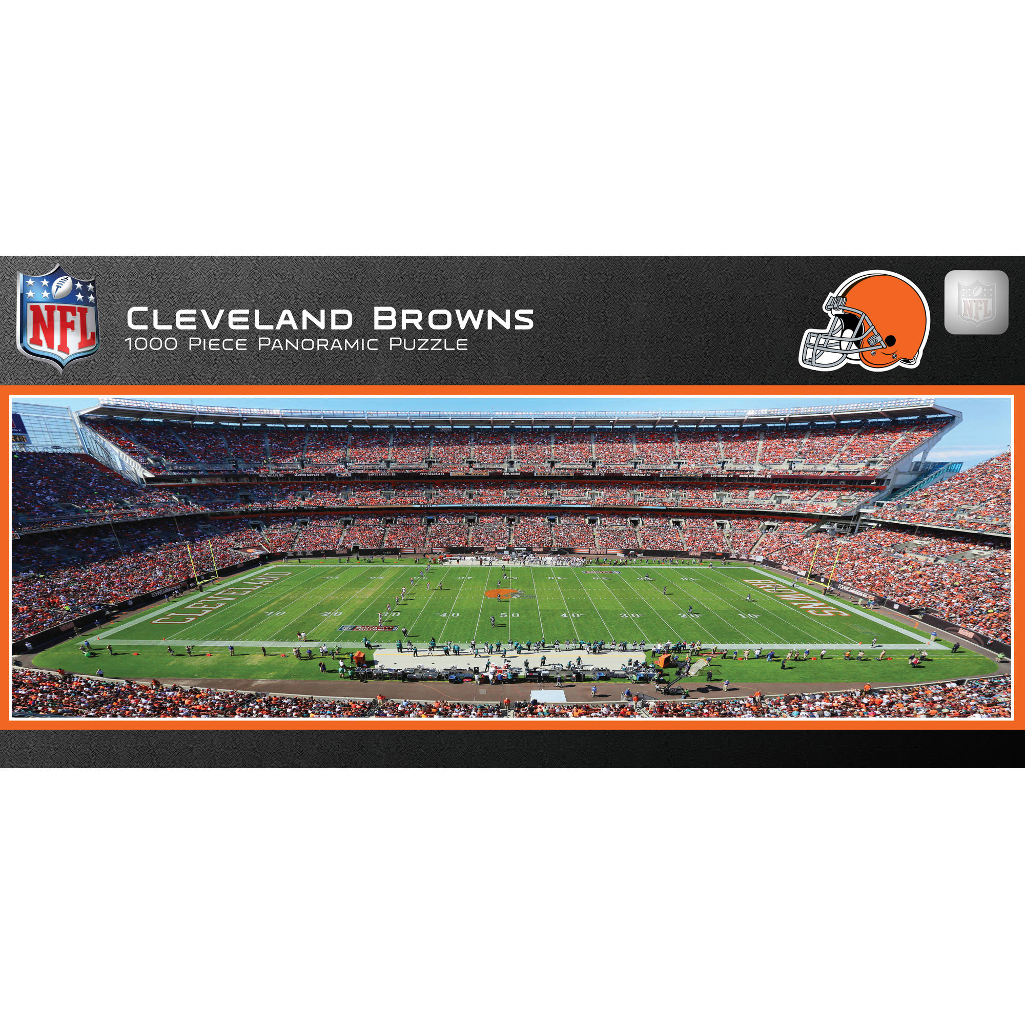 Master Pieces Cleveland Browns Panoramic Stadium Puzzle, 1,000 Pieces by Generic