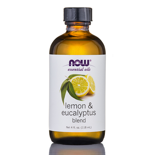NOW Essential Oils - Lemon & Eucalyptus Oil Blend - 4 fl. oz (118 ml) by NOW