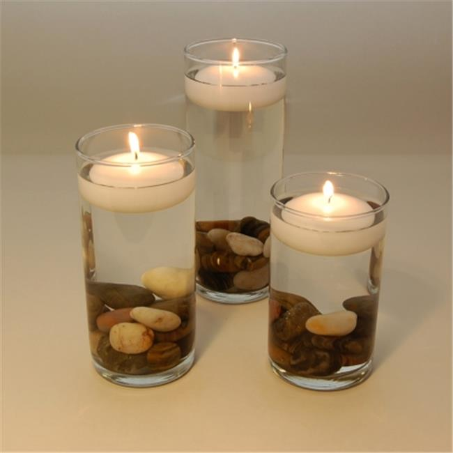 JH Specialties 75012 Small Floating Candles- 12 Ct