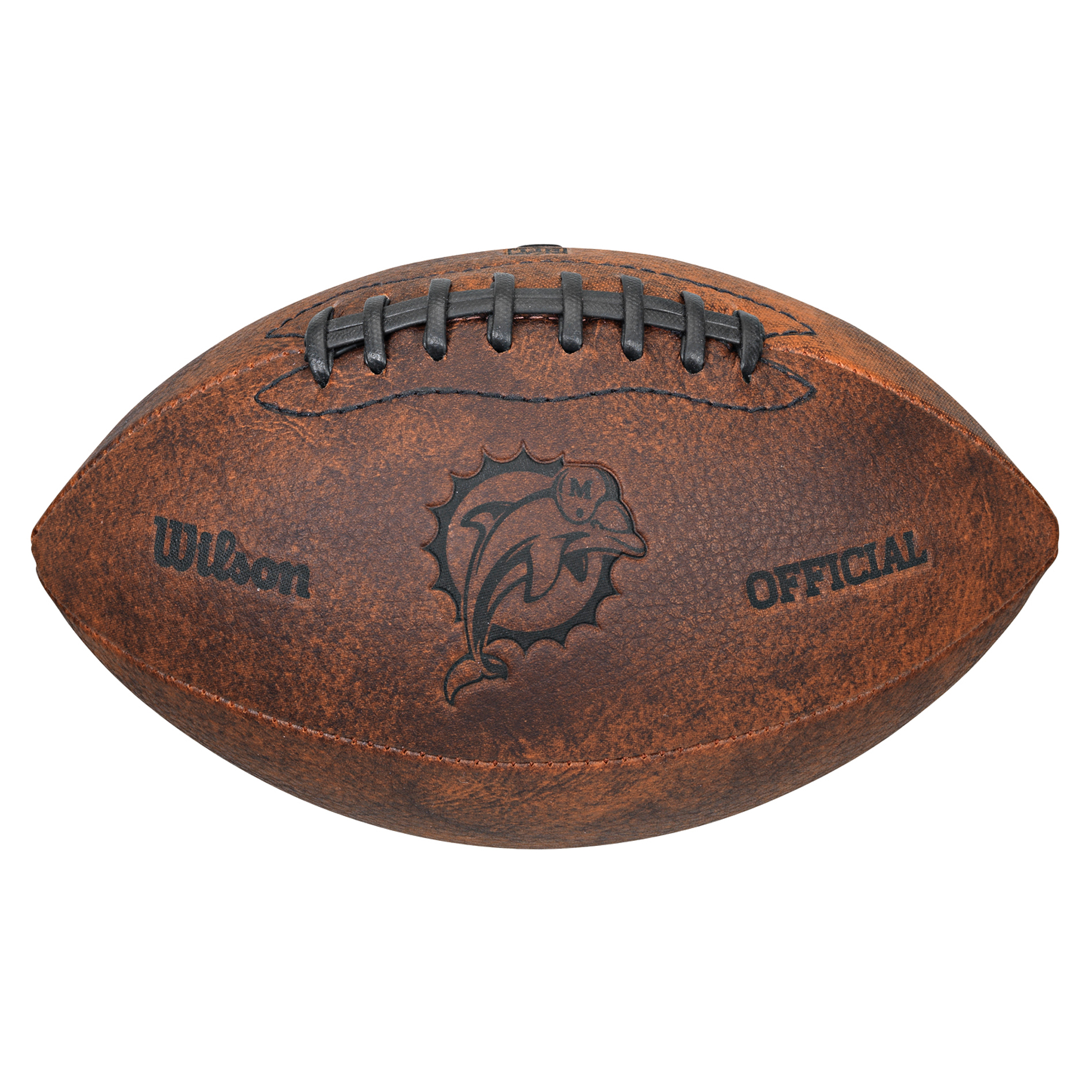 "Wilson NFL 9"" Collectible Football, Miami Dolphins"