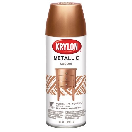 Metallic Spray Paint 11oz-Copper