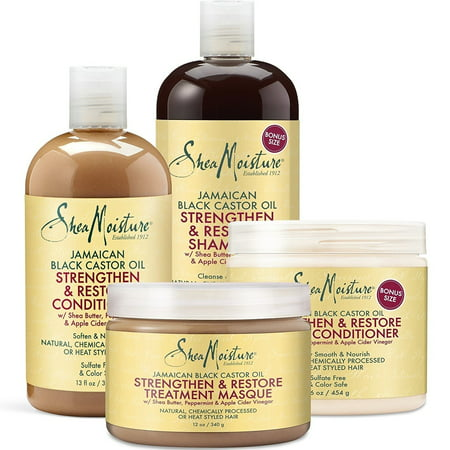 Shea Moisture SheaMoisture Jamaican Black Castor Oil 4-piece Gift Set