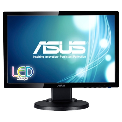 Asus 19inch LED Backlit LCD Monitor Asus VE198TL 19