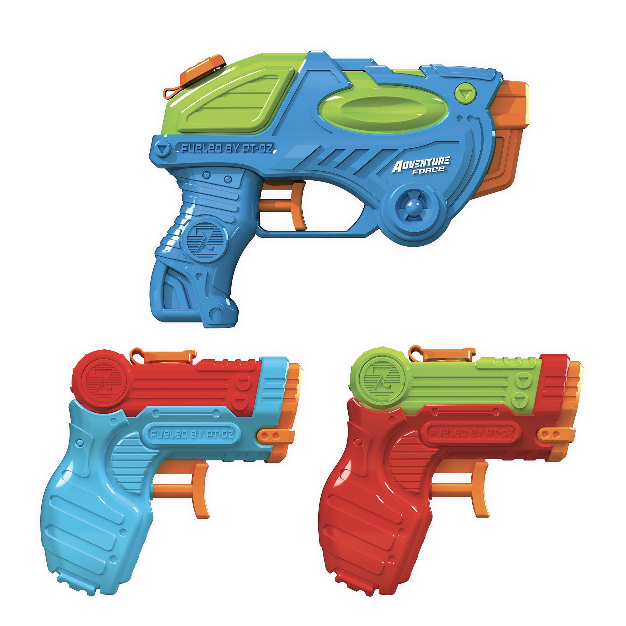 Pack of 3 Adventure Force Tidal Storm Water Guns