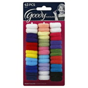 Goody Ouchless Ponytailers - 42 CT (Color may vary)