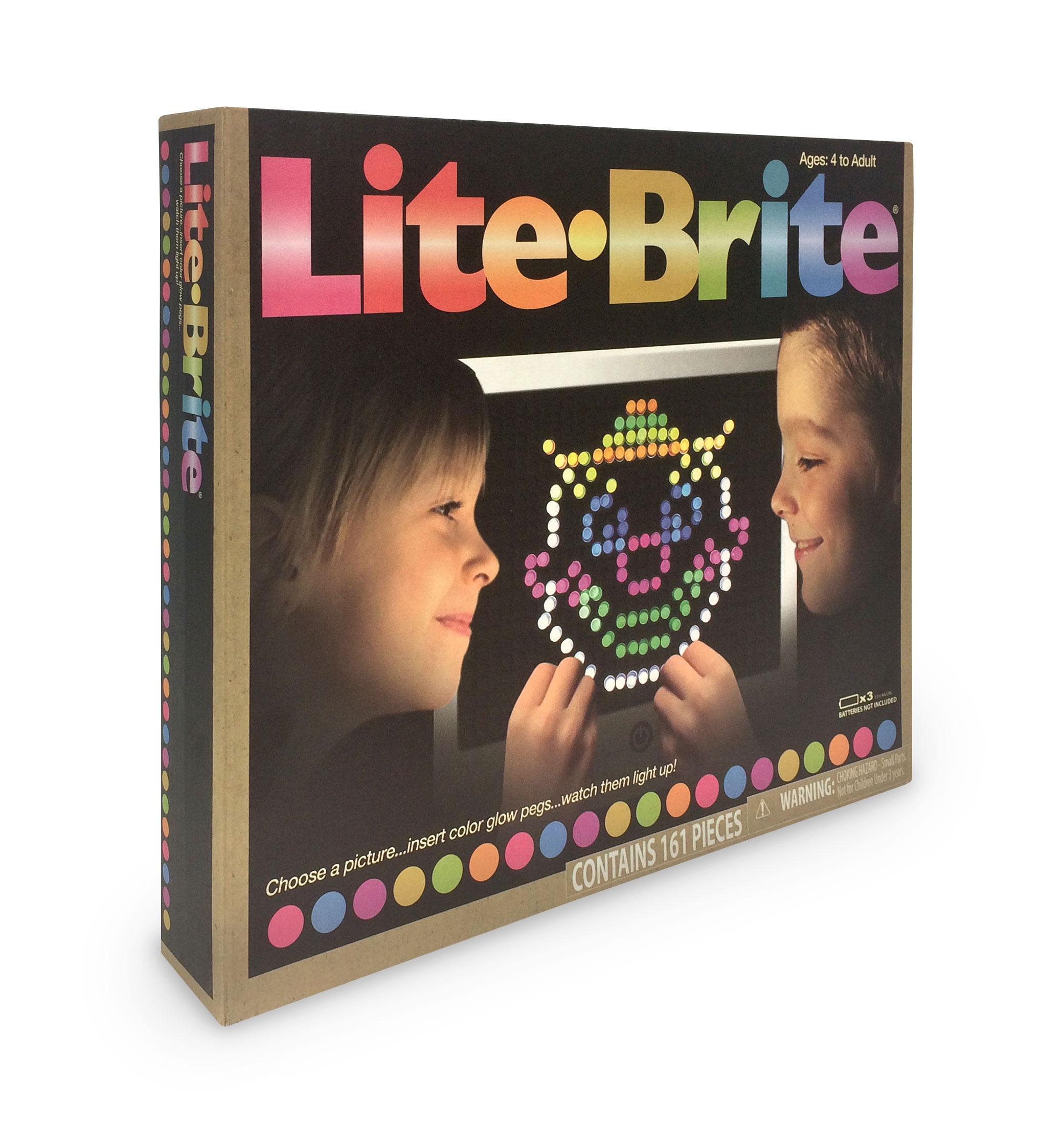 Basic Fun Lite Brite Magic Screen Retro Style Toy