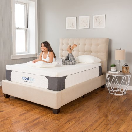 "Modern Sleep Cool Gel Ultimate 14"" Ventilated Gel Memory Foam Mattress with BONUS"