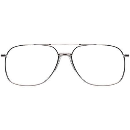 Stetson Mens Prescription Glasses, XL8 Gunmetal