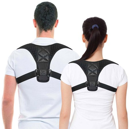 Posture Corrector Shoulder Support Figure 8 Clavicle Therapy Back Pain Relief For Women And Men