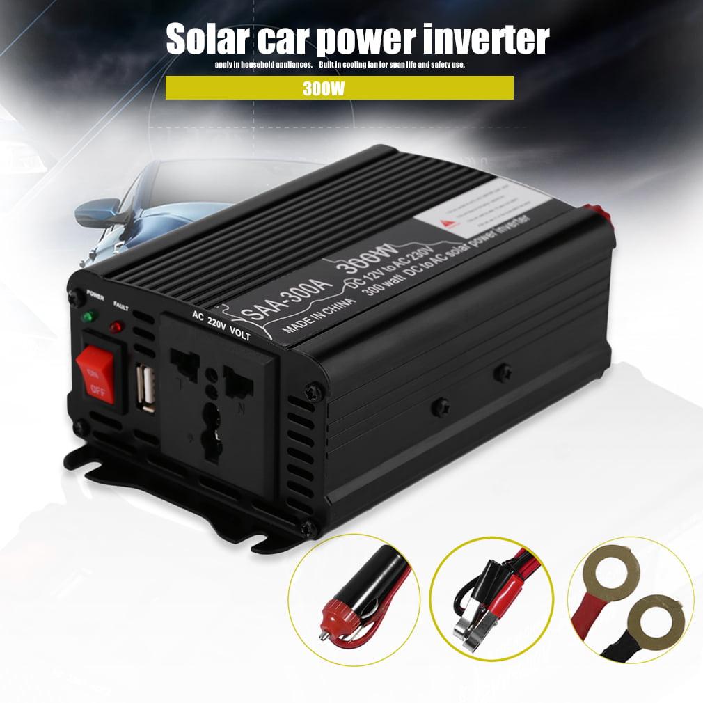 Car Power Inverter DC 12V To AC 220V-240V Household Power Converter ...