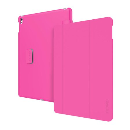Incipio Tuxen Snap-On Folio with Magnetic Closure - Flip cover for tablet - polycarbonate, vegan leather - pink - for Apple 9.7-inch iPad Pro