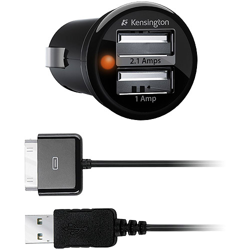 Kensington Non-Inductive PowerBolt Duo Car Charger