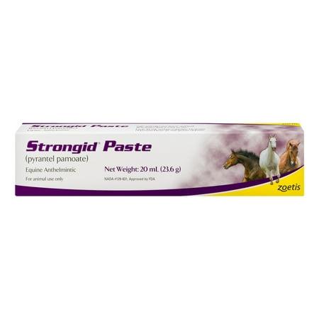 Zoetis Strongid Paste Equine Anthelmintic, 20.0 ML