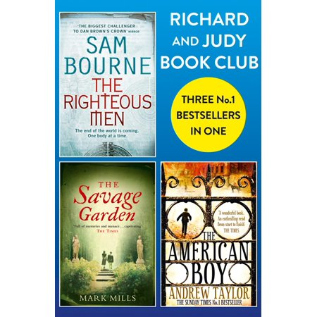 Richard and Judy Bookclub - 3 Bestsellers in 1: The American Boy, The Savage Garden, The Righteous Men - eBook ()