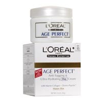 Loreal Age Perfect Anti Sagging And Ultra Hydrating Day Cream With Dermo Expertise Spf 15 - 2.5 Oz, 2 Pack