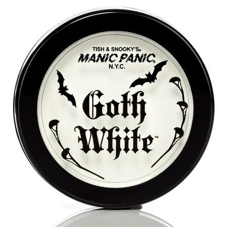 Goth White Manic Panic Powder Cream Foundation (White Powder)