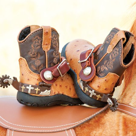 Spurs For Boots (Beagley Three Cross Toddler Spurs With)