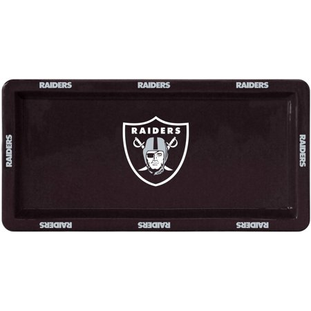 NFL Oakland Raiders Rectangular Game Time Platter by