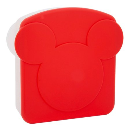 - disney parks mickey icon kitchen sandwich keeper new with card