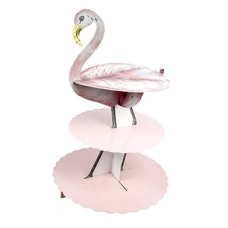 Talking Tables Truly Flamingo 3 Tier Cake Stand - Cake Table