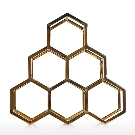 Honeycomb Wine Rack Metal Wine Holder Innovative Wine