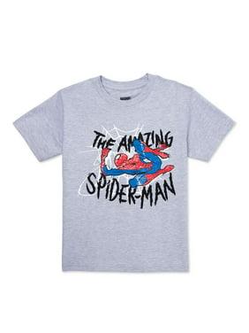 Spider Man Boys Shirts Tops Walmart Com