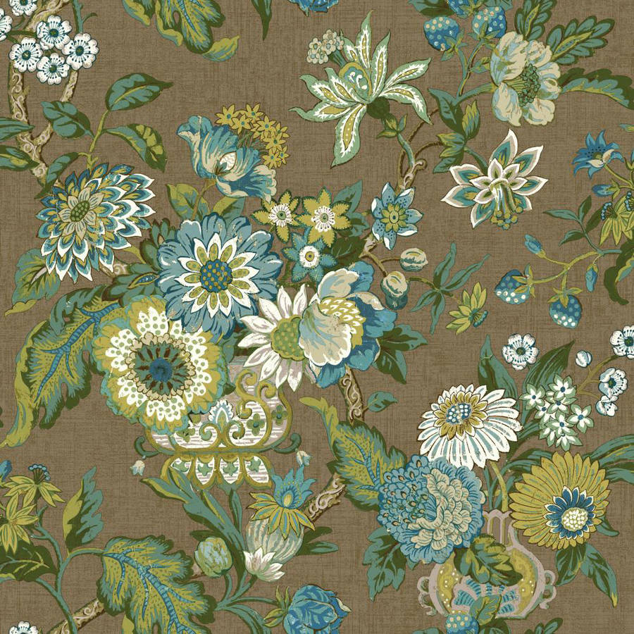 Global Chic Graceful Garden Wallpaper