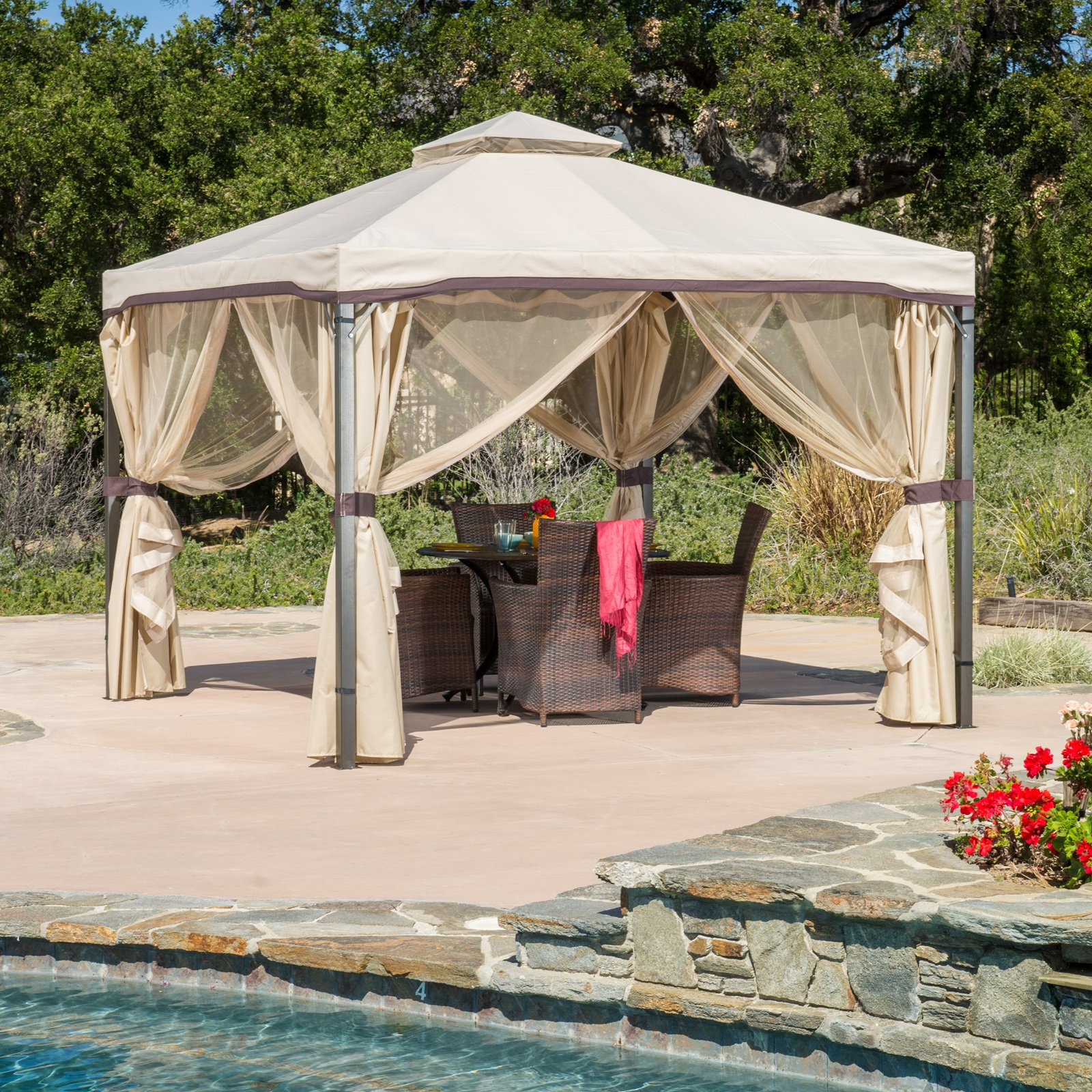 Best Selling Home Genoa Gazebo by Best Selling Home Decor Furniture LLC