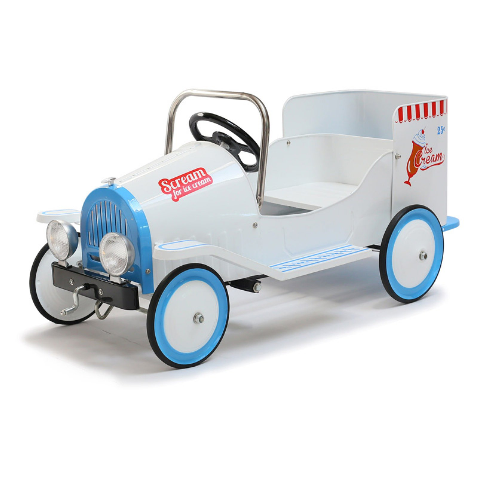Morgan Cycle Ice Cream Truck Pedal Riding Toy