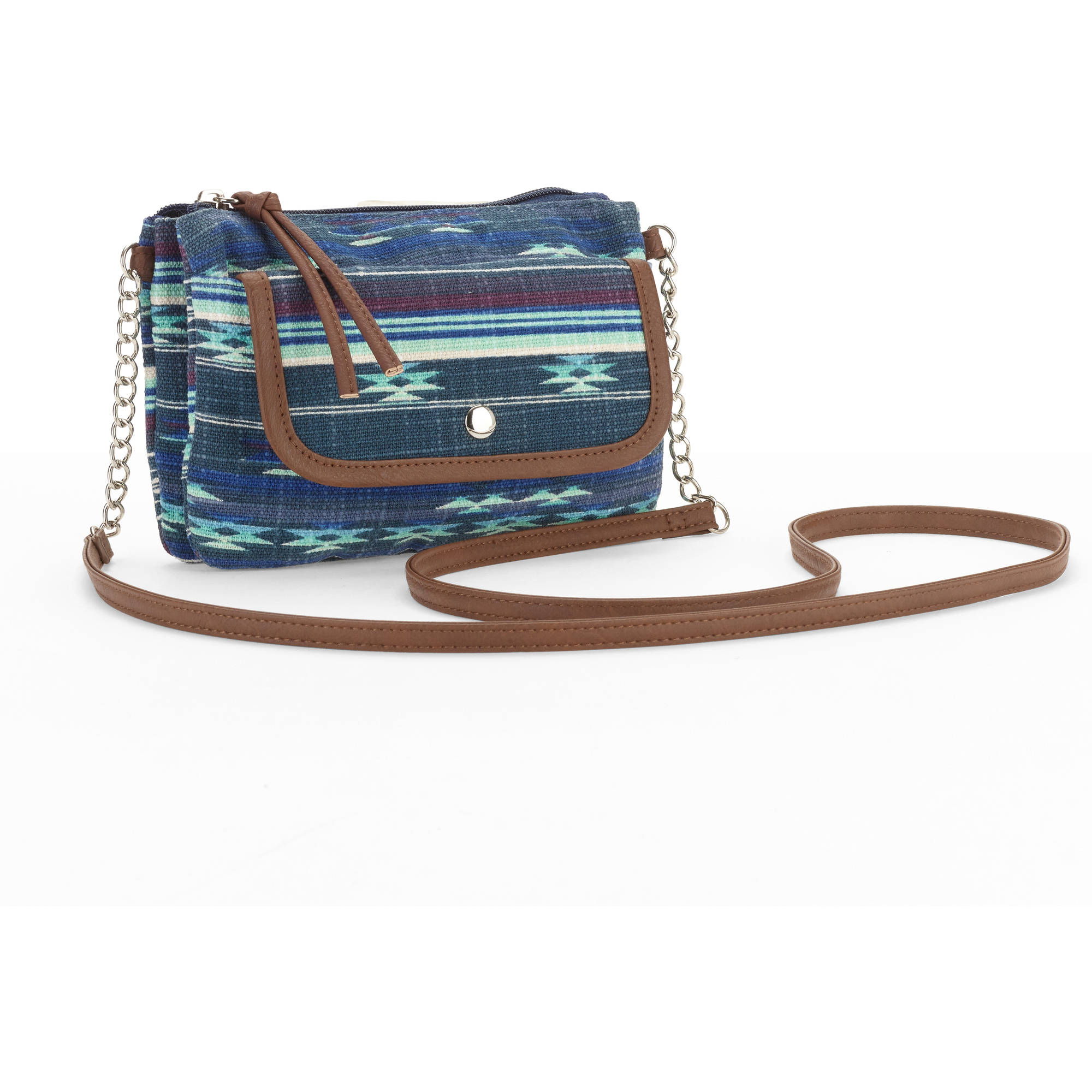 No boundaries Women's Printed Chain Crossbody Handbag