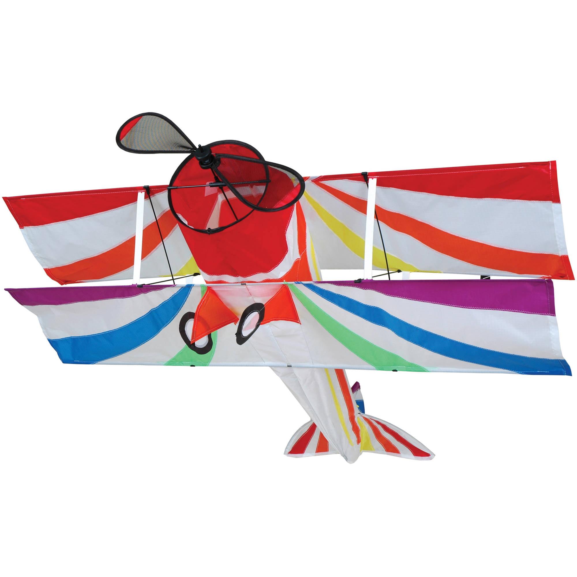 Premier Designs Rainbow Bi-Plane Kite by Premier Kite