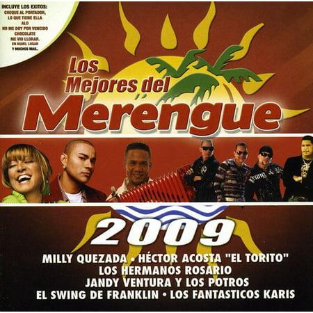Los Mejores Del Merengue 2009