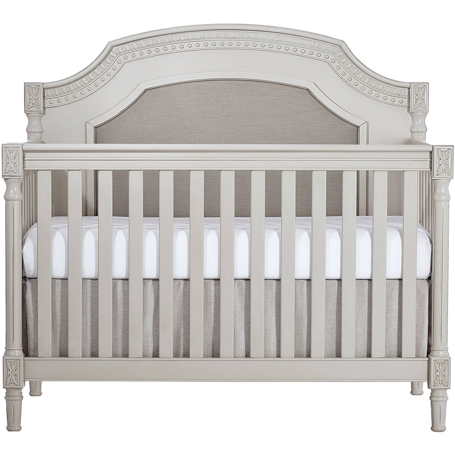 Evolur Julienne 5-in-1 Convertible Crib, French Linen