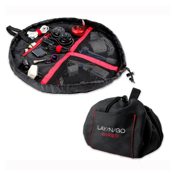 Lay-N-Go Wired Black and Red