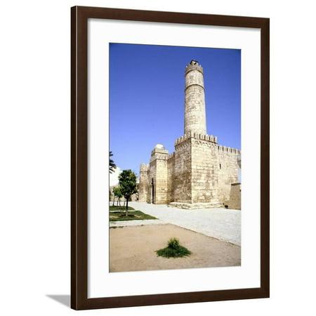 38in Framed - Ribat, Sousse, Tunisia Framed Print Wall Art By Vivienne Sharp