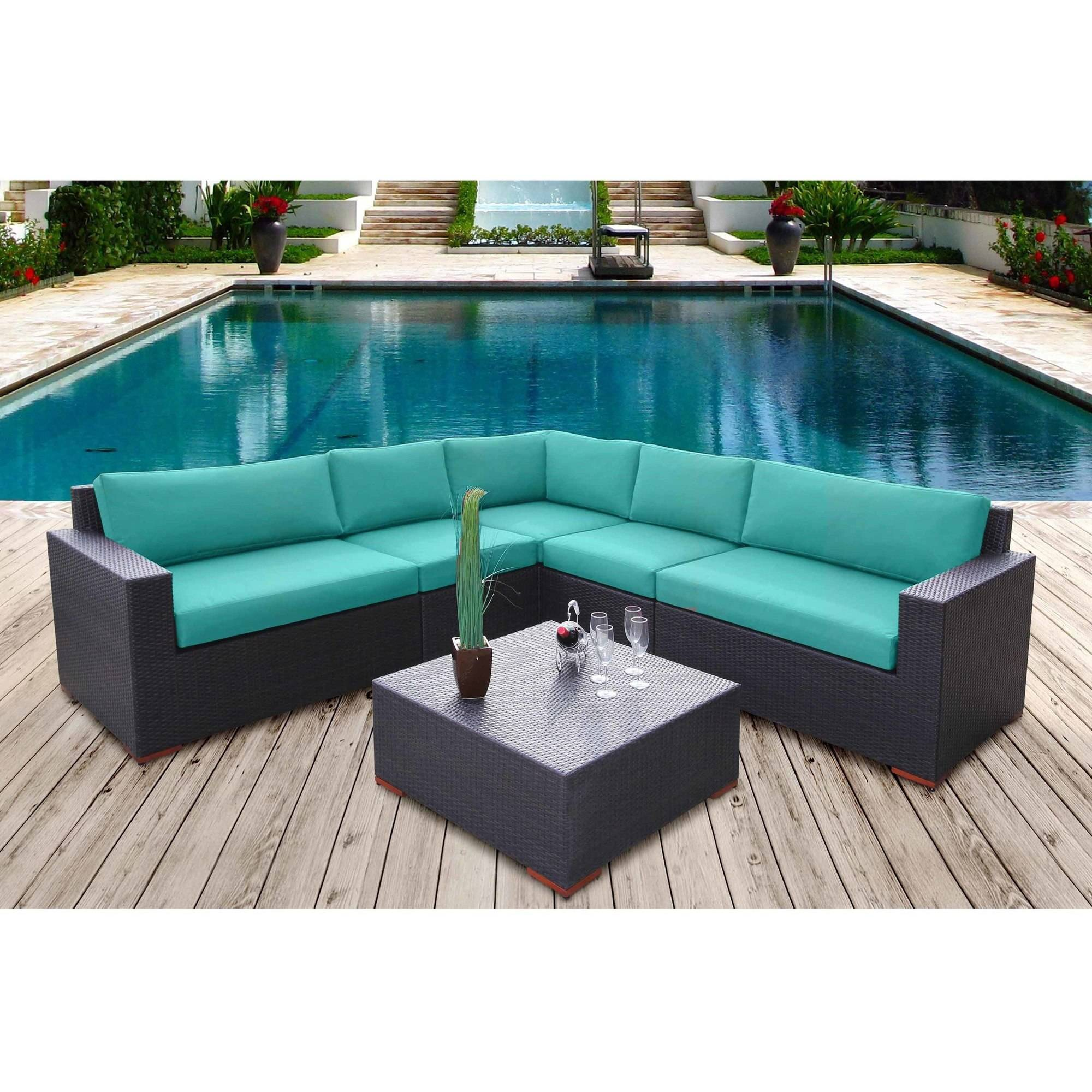 Nevis 6-Piece Sectional Seating Set