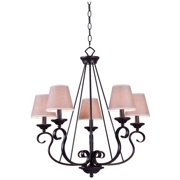 Design Craft Kiel 5-light Oil Rubbed Bronze Chandelier