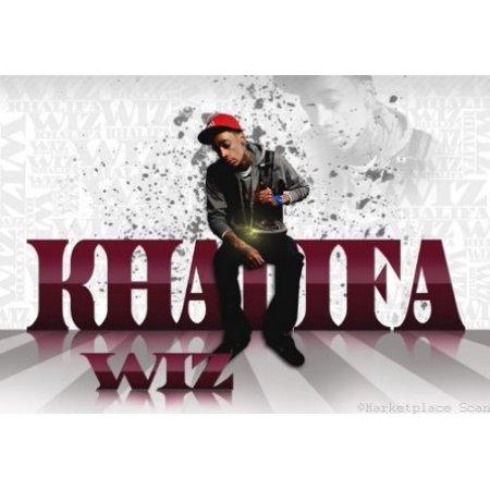 Wiz Khalifa poster Metal Sign 8inx 12in