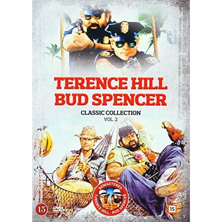 Terence Hill and Bud Spencer Classic Collection 2 - 5-DVD Set ( Miami Supercops / Odds and Evens / Super Snooper / Thieves and Robbers / Who Finds a Fri [ NON-USA FORMAT, PAL, Reg.0 Import - Denmark