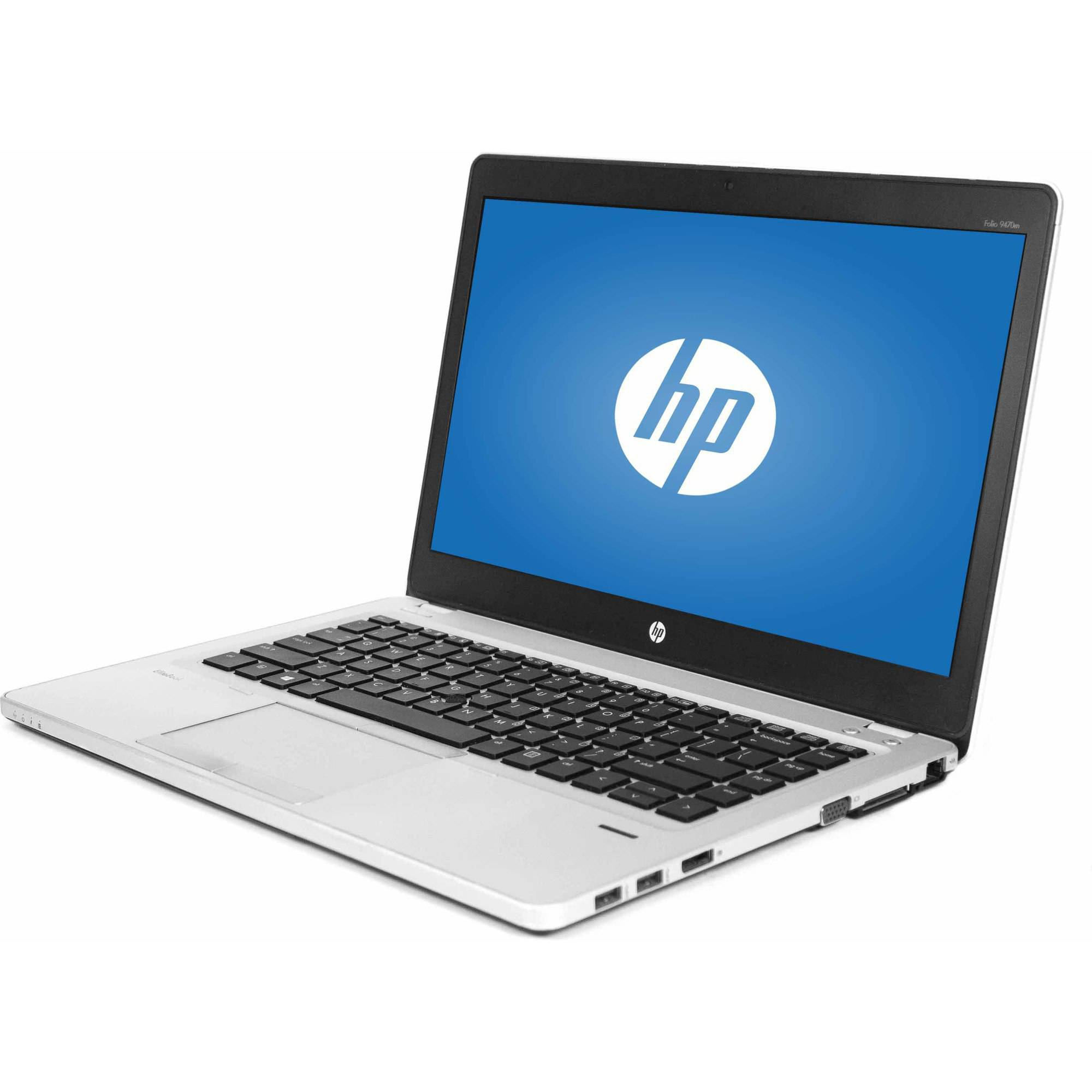 "Refurbished HP Silver 14"" Folio EliteBook 9470M Laptop PC with Intel Core i5-3437U Processor, 16GB Memory, 750GB Hard Drive and Windows 7 Professional"