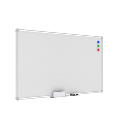 Frame Standard Whiteboard (OFM Essentials Collection Magnetic Whiteboard with Aluminum Frame and Tray, 36 x 24)